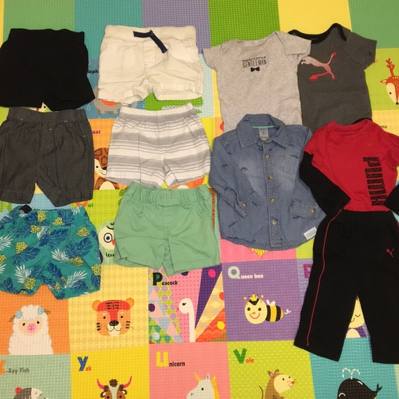 30a6c20ed Baby Boy Clothing Set 6 to 9 month old Bundle